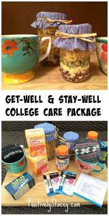 healthy care packages how to put together a college get well stay well care package