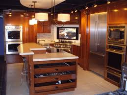 charming modern kitchens pros of wood kitchen cabinets