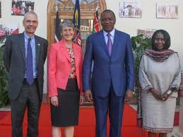 Us Cabinet Secretary Kenya U S Sign Agreement To Curb Illegal Poaching U0026 Logging