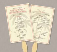 Diy Wedding Program Fans Kits Diy Wedding Program Fan Kit Order Of Service Fan Wedding