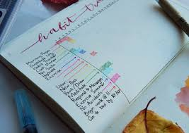 how to start writing a scientific paper 40 things to track in your habit tracker start one today a monthly bullet journal spread is a must for me to organize my big goals