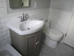 half bathroom ideas gray bathroom gray graphic wallpaper ideas for