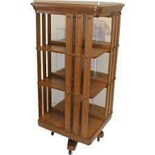 Danner Revolving Bookcase Staebel Antiques From Rayspassion On Ruby Lane