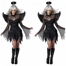 Gothic Halloween Costumes Women Compare Prices Halloween Costumes Fallen Angel Shopping