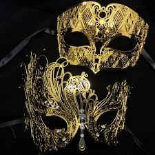 masquerade mask in bulk wholesale black silver white gold diamond metal laser cut