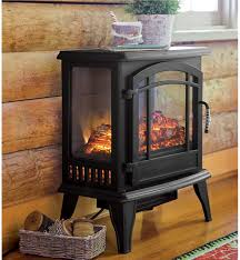 Electric Fireplace Stove Amazing Infrared Stove Heater Electric Stoves Plow Hearth Intended