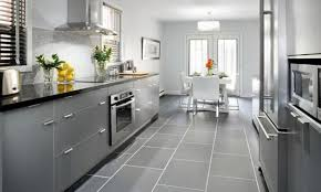 articles with light gray cabinets with black countertops tag