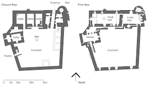 57 medieval castle floor plans keep showy corglife