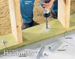 how to choose and use concrete fasteners family handyman