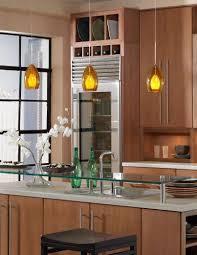 green glass top combine yellow pendant lights kitchen islands
