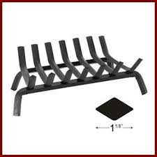 shallow steel fireplace grate northshore fireplace