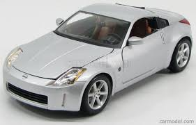 nissan 2008 2 door maisto 31672s scale 1 18 nissan 350z coupe 2 door 2003 silver