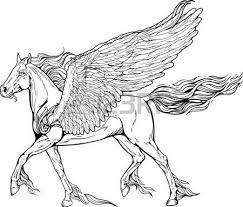 coloring pages of flames 915 horse coloring page stock illustrations cliparts and royalty