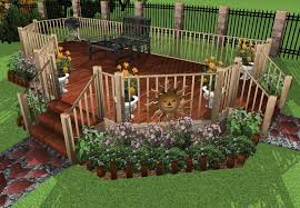 Landscape Deck Patio Designer Deck And Patio Design Ideas Deck Design And Ideas