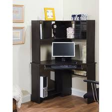 Walmart Desk With Hutch Corner Computer Desk And Hutch Black Oak Walmart 95 For