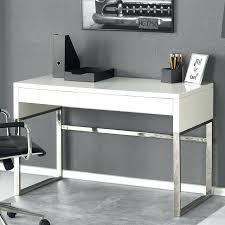 bureau en verre design bureau design laque blanc cleanemailsfor me
