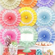 hanging paper fans neon pink party pinwheel decorations paper fans backdrop hanging