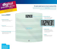 Weight Watchers Bathroom Scale Battery Amazon Com Weight Watchers Scales By Conair Digital Painted Glass