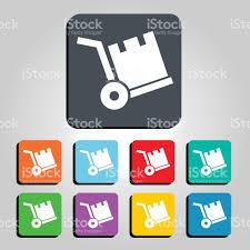 box cart box cart vector icon illustration stock vector art 641650190 istock