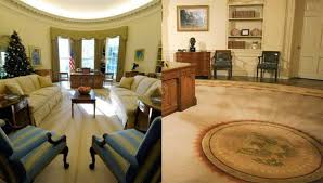 Gold Curtains In The Oval Office Slaps Hillary In The Face By Making 1 Obvious Change To Oval Office