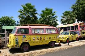 volkswagen bus art images gratuites voiture vw van véhicule hawaii autobus