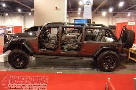 7 passenger jeep wrangler 1011 4wdweb 25 2010 sema jeep wrangler limo left side photo