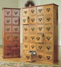 Library Catalog Cabinet Card File Cabinets Foter