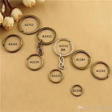 round key rings images 2018 vintage diy handmade jewelry accessories bronze keychain jpg