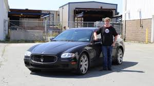 maserati woman stars in cars mike smith aka bubbles from trailer park boys