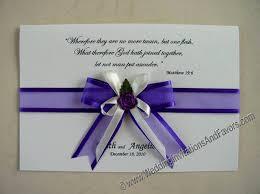 Purple Wedding Invitations Purple Invitations