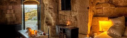 sleeping in the sassi of matera le grotte della civita
