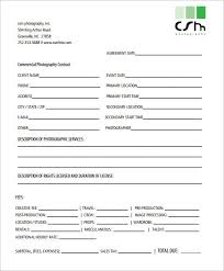 photography contracts photography business forms u0026 contracts set