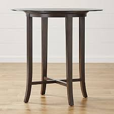 Crate And Barrel Dining Table Round Glass Dining Tables Crate And Barrel