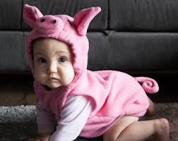Etsy Newborn Halloween Costumes Pig Costume Etsy
