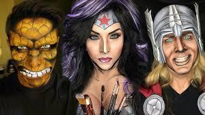 makeup artistry books ka pow makeup artist transforms into comic book characters