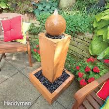 Water Fountain For Backyard - outdoor fountains the family handyman