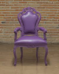 Purple Ottoman by Red Armchair Glamour 651 Accent Seating