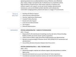 System Administrator Resume Template Download Systems Administrator Resume Haadyaooverbayresort Com