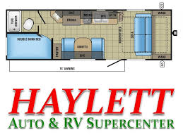 Jayco Travel Trailers Floor Plans by 2017 Jayco Jay Feather 7 22bhm Travel Trailer Coldwater Mi