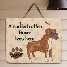 boxer dog doormat personalized pet lover gifts personalizedcustomgifts