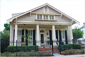 new style homes new orleans homes and neighborhoods the craftsman style new
