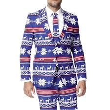 christmas suit the rudolph blue christmas suit by opposuits retrofestive ca