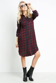 blouse dress plaid blouse dress with pockets shop sleeve at papaya
