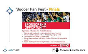 soccer fan fest with gravy