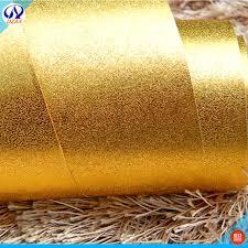 Conhecido Folha de ouro papel de parede sala de estar teto puro desenho fio  #VA05