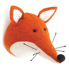 kinderzimmer fiona tierkopf fuchs foxi ein schlauer fuchs als tierisch coole kinderzimmer
