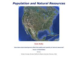 Population Map Of The United States by Population And Natural Resources Case Study How Does Urban