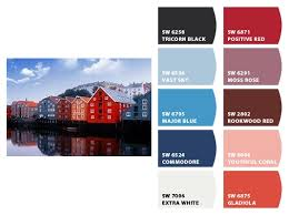norwegian fishing village inspiration for exterior home color