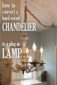 convert hardwire light to plug in how to turn a hard wire light fixture into a plug in tutorials