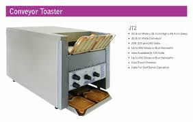Conveyor Toaster For Home Goldline Industries Belleco Conveyor Toasters And Ovens